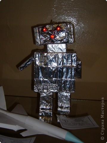 Робот из коробков своими руками