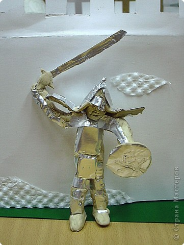 Рыцарь у замка