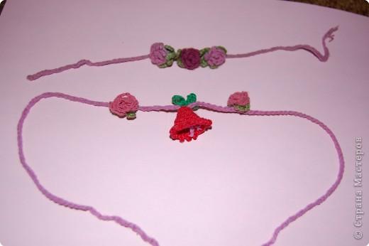 Вязание крючком: украшение