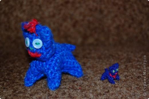 Вязание крючком: вязаные игрушки.для сравнения фото 1