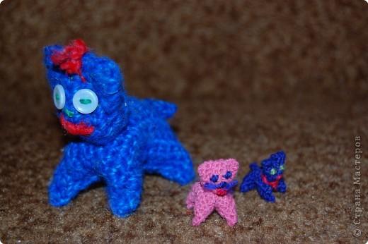 Вязание крючком: вязаные игрушки.для сравнения фото 3
