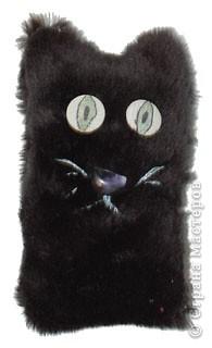 Игрушка мягкая: Черный кот