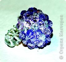 Бисероплетение: Гламурное кольцо фото 2