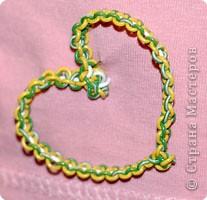 Макраме: плетёное сердце