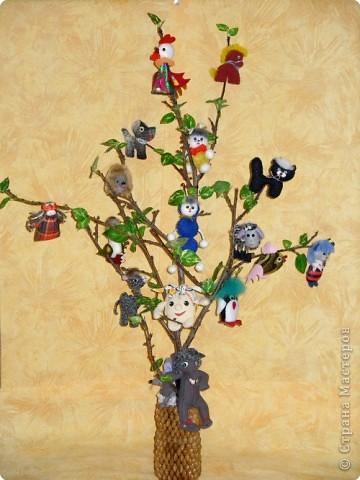 Игрушка мягкая: Сказочное дерево