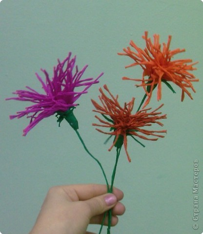 Моделирование: Цветы из бумаги фото 3
