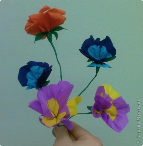 Моделирование: Цветы из бумаги фото 4