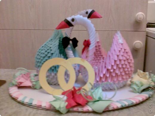 Оригами модульное: сладкая парочка!