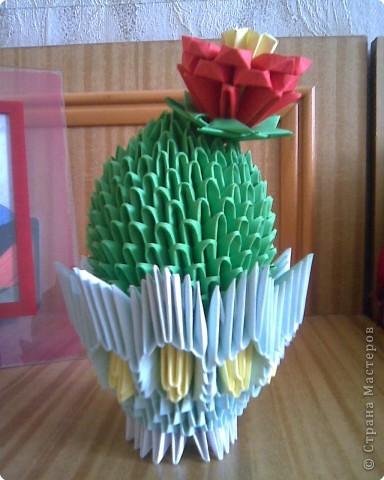 Оригами модульное: Мои кактусы фото 1