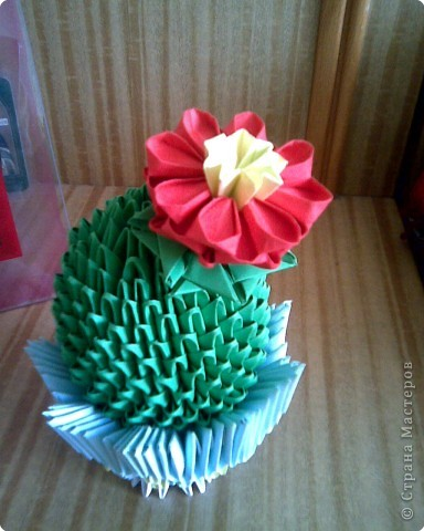 Оригами модульное: Мои кактусы фото 2
