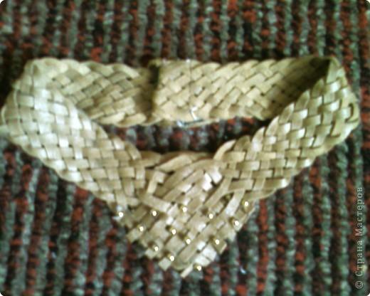 Плетение: Украшения из кожи. фото 2
