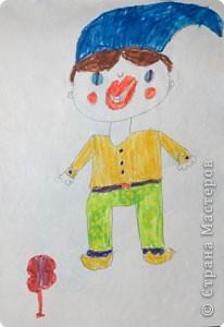 Автопортрет (7 лет) фото 4