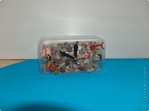 Часы из конфетной коробки