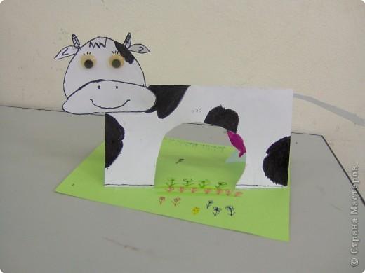 Аппликация, Вырезание: Ох как я своих коровушек люблю... фото 4