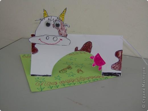 Аппликация, Вырезание: Ох как я своих коровушек люблю... фото 3