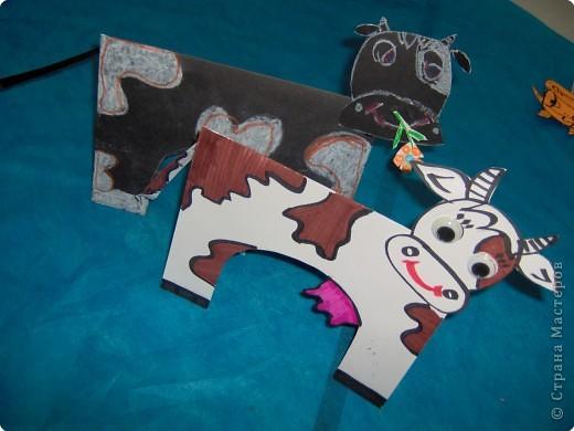 Аппликация, Вырезание: Ох как я своих коровушек люблю... фото 1