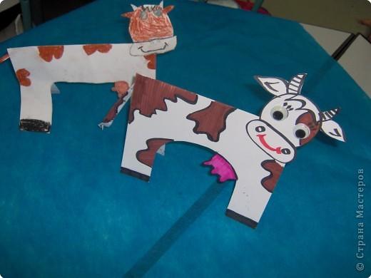 Аппликация, Вырезание: Ох как я своих коровушек люблю... фото 5