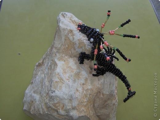 Бисероплетение: Черный дракон фото 1