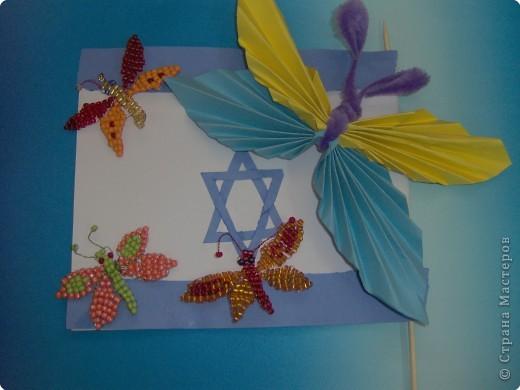 Бабочки из бисера и не только... фото 9