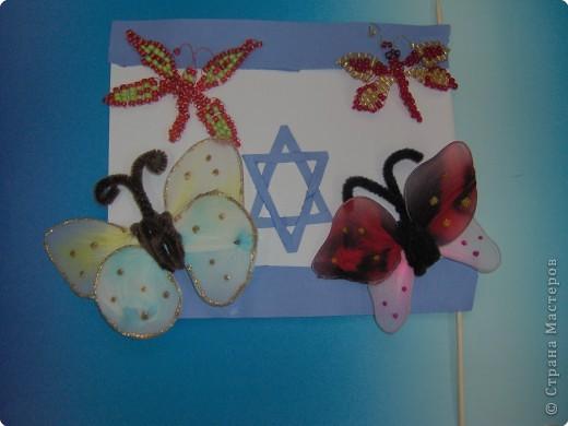Бабочки из бисера и не только... фото 11