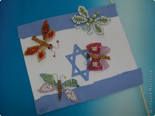 Бабочки из бисера и не только... фото 4