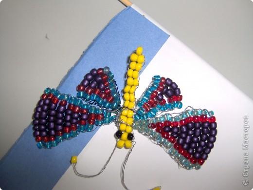 Бабочки из бисера и не только... фото 2