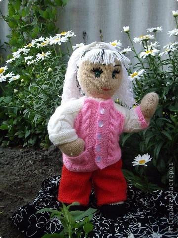 Вязание спицами: Куклы в подарок фото 1