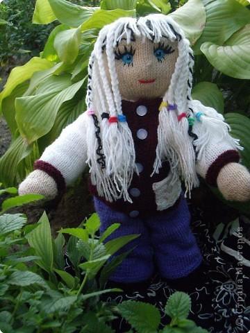 Вязание спицами: Куклы в подарок фото 2