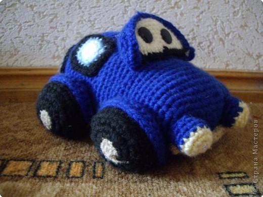 Вязание крючком: Машина фото 2