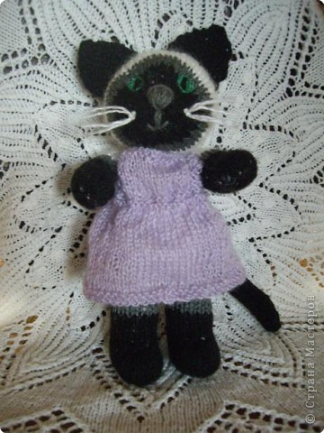 Вязание спицами: Мурлыка фото 2