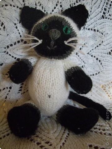 Вязание спицами: Мурлыка фото 3