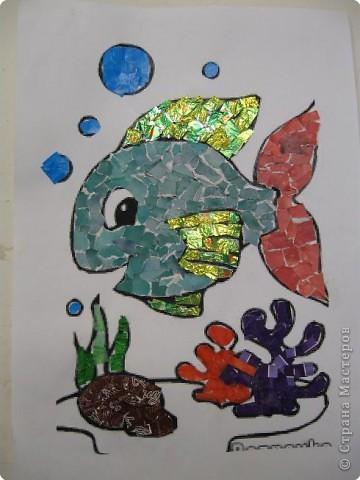 Мозаика: Чудо-рыбка.