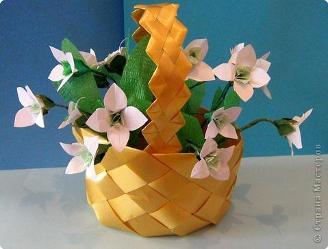 Оригами: Подснежники фото 1