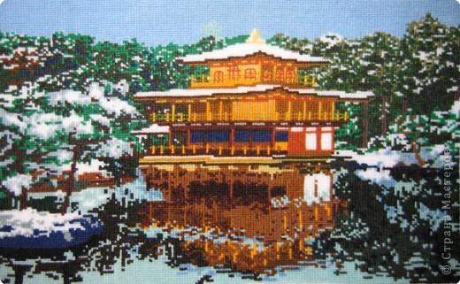Вышивка крестом: Пагода