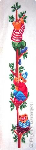 Вышивка крестом: Три медведя