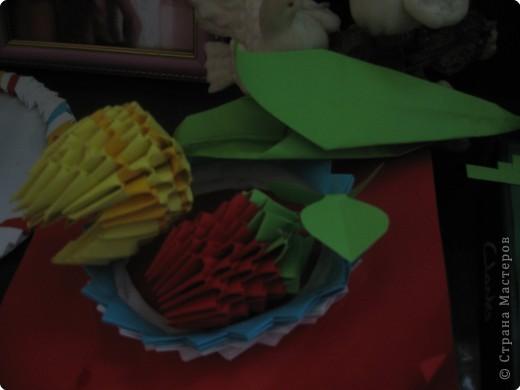 Оригами модульное: а это вторая работа