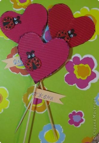 Валентинки для девочек фото 1