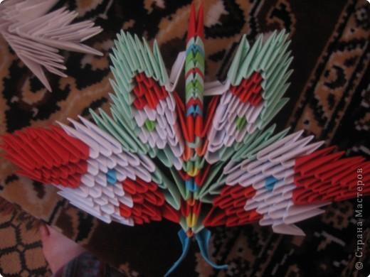 Оригами модульное: полетели