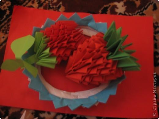 Оригами модульное: самая первая работа