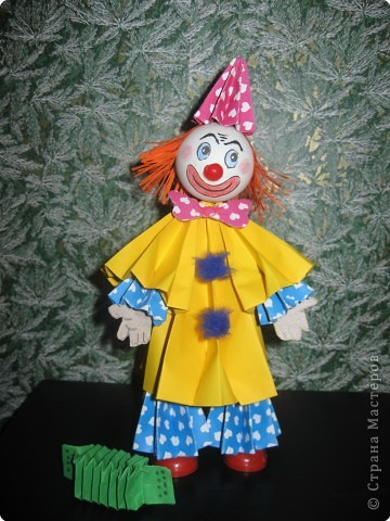 Весёлый клоун
