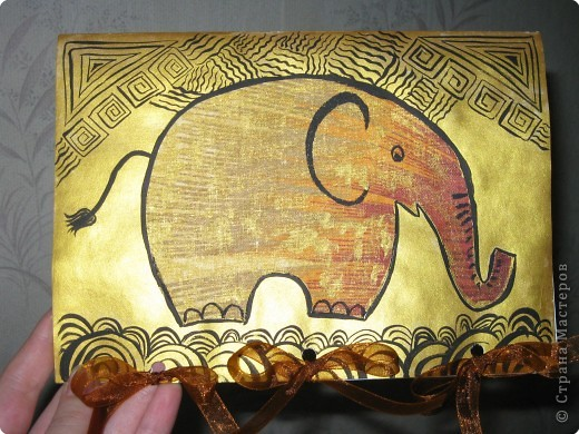 золотой слоник