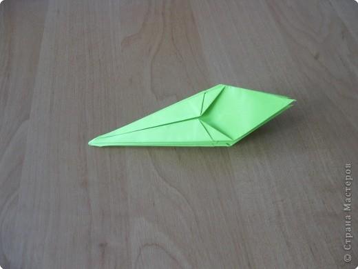 Я впервые делаю МК. Не знаю ,будет ли все понятно. Итак, берем квадратный лист бумаги и намечаем диагональ. фото 26