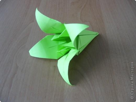 Я впервые делаю МК. Не знаю ,будет ли все понятно. Итак, берем квадратный лист бумаги и намечаем диагональ. фото 29