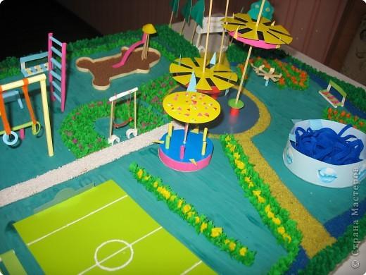 Макеты детских садов своими руками фото