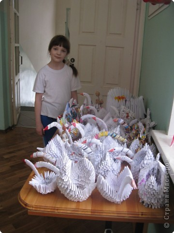 Оригами модульное: Лебединое царство фото 1