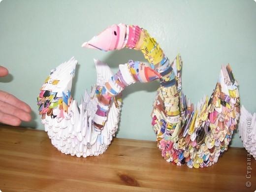 Оригами модульное: Лебединое царство фото 3