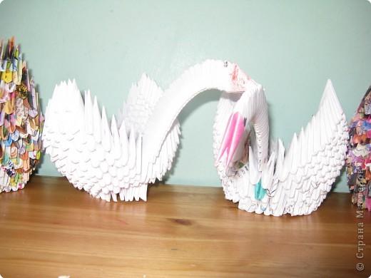 Оригами модульное: Лебединое царство фото 5