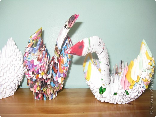 Оригами модульное: Лебединое царство фото 4
