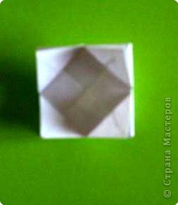 Оригами модульное: модуль для мозаики фото 3