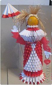 Мастер-класс Поделка изделие Начало учебного года Оригами китайское модульное Мастер-класс по оригами кукла Бумага фото 19